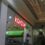 Photo taken at Super Konzum by Mato on 12/30/2011