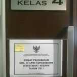 Photo taken at Ruang Kelas 4 by Tiwie L. on 11/17/2011