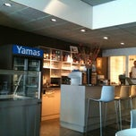 Photo taken at Yamas food & drinks by Vincent K. on 7/13/2011