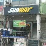 Photo taken at Subway by Siddarth M. on 7/11/2011