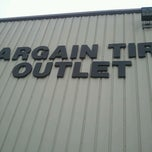 Photo taken at Bargain Tire Outlet by E V. on 3/3/2012