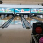 Photo taken at Royal Lanes Bowling Alley by Gina C. on 9/6/2011
