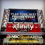 Photo taken at NBC Sports Arena at XFINITY Live! Philadelphia by notsgnivil H. on 9/13/2012