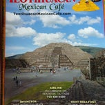 Photo taken at Teotihuacan Mexican Cafe by Nathan W. on 6/4/2012