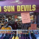 Photo taken at Sparky's Stadium Shop by Nick B. on 8/17/2012