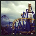 Photo taken at Six Flags by Raul A. on 8/5/2013