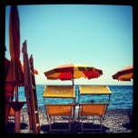 Photo taken at Trebisacce Beach by Luca R. on 8/14/2013