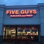 Photo taken at Five Guys by Zsuzsanna D. on 12/20/2012