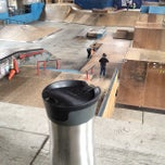Photo taken at Four Seasons Skate Park by Ku M. on 1/25/2015