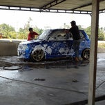 Photo taken at Azeez Car Wash by Syukri B. on 3/15/2014