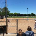 Photo taken at Community Baseball Fields by Jacob Barlow on 6/1/2013
