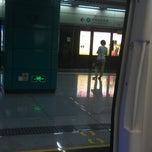 Photo taken at 大新地铁站 Daxin Metro Sta. by Iurii on 5/20/2013