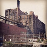 Photo taken at Domino Sugar Factory by Ed F. on 7/8/2013