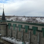 Photo taken at Hôtel Château Laurier by Matthew R. on 3/28/2013