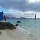 Photo taken at Diniwid Beach, Boracay by Константин Х. on 2/7/2013