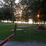 Photo taken at Bellamy Park Family Campground by Krista B. on 8/10/2013