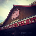 Photo taken at Bubbalou's Bodacious Bar-B-Que by Caroline A. on 1/21/2012