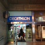 Photo taken at Decathlon by Sergio C. on 11/11/2012