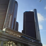 Photo taken at DPM - Renaissance Center Station by Anthony C. on 2/11/2013