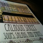 Photo taken at Calhoun St. Soups Salads and Spirits by Colin W. on 3/22/2013
