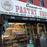 Photo taken at Court Pastry Shop by Patrick M. on 6/17/2013
