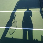 Photo taken at Longview Tennis Courts by Melanie on 4/9/2014