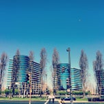 Photo taken at Oracle Plaza by Eric W. on 3/21/2013