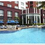 Photo taken at Hotel Aryaduta Makassar by Ikal A. on 2/20/2013