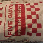Photo taken at Five Guys by Robert K. on 9/18/2012