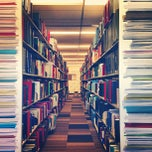 Photo taken at UNSW Main Library by David R. on 4/5/2013