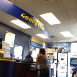 Photo taken at Goodyear Auto Service Center by Thom R. on 1/17/2013