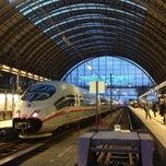 Photo taken at Frankfurt (Main) Hauptbahnhof by Maxim N. on 3/24/2013