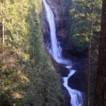 Photo taken at Wallace Falls Trail by Antoine J. on 1/29/2014