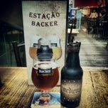 Photo taken at Cervejaria Backer by Carlos C. on 2/1/2013