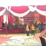 Photo taken at Kantor Bupati Pringsewu by Fredy B. on 9/21/2012