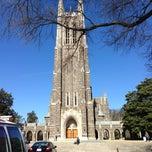 Photo taken at Duke University by Tristan M. on 3/22/2013