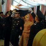 Photo taken at Gedung Serbaguna Pusri by Anggun S. on 5/25/2014