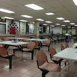 Photo taken at AIKOL Cafeteria by Eijarm A. on 4/10/2013