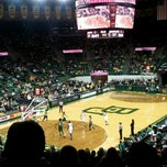 Photo taken at Ferrell Center by Ricky C. on 12/30/2012