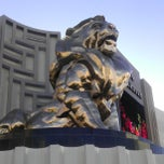 Photo taken at MGM Grand Lion Statue by Debbie L. on 6/14/2013