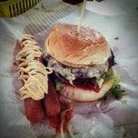 Photo taken at Burger Bakar Abang Burn by Juju S. on 2/24/2013