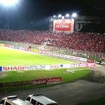 Photo taken at Stadium Sultan Muhammad IV by Nurul A. on 5/18/2013