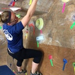 Photo taken at Red Barn Climbing Gym by Paul S. on 8/18/2014