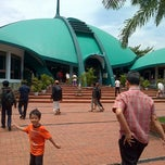 Photo taken at Masjid Jami' Al-Baitul Amien Jember by Ananda R. on 12/28/2012