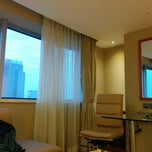 Photo taken at Sheraton Chengdu Lido Hotel by Abraham C. on 12/3/2014