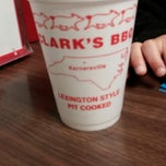 Photo taken at Clark's BBQ by Brittney O. on 4/15/2014
