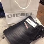 Photo taken at Diesel by Jenny S. on 9/28/2013
