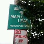Photo taken at Maple Leaf Neighborhood by Uptown S. on 6/14/2014