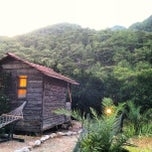 Photo taken at Olympos Deep Green Bungalows by Kürşat T. on 8/13/2013