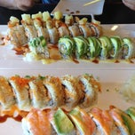 Photo taken at Cherry Sushi by Rosie D. on 5/2/2013
